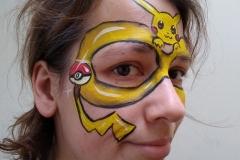Pikachu masker